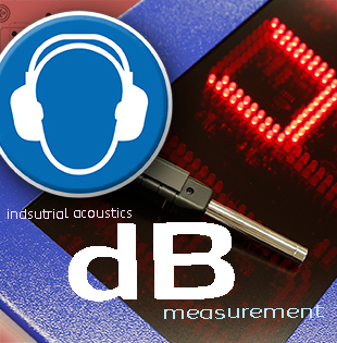 Industrial acoustics - noise level measurements