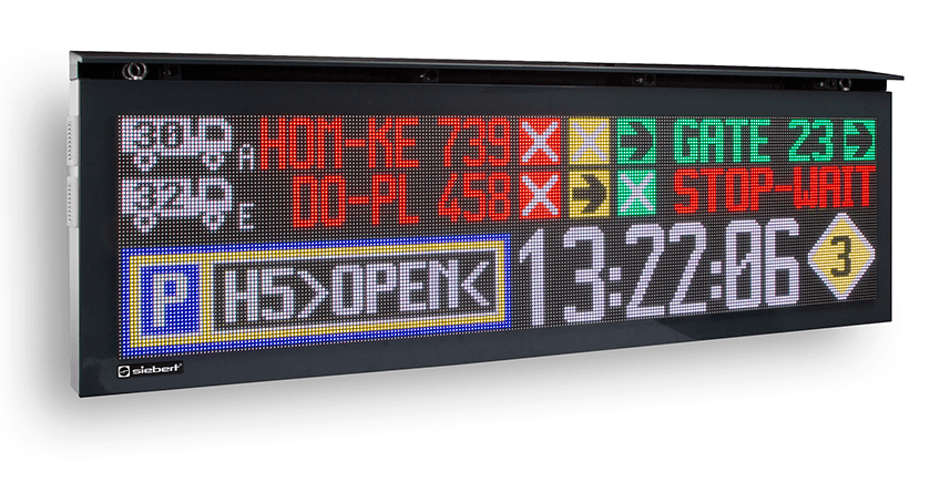 Display a LED per esterno Serie XC55 - Vista 3D